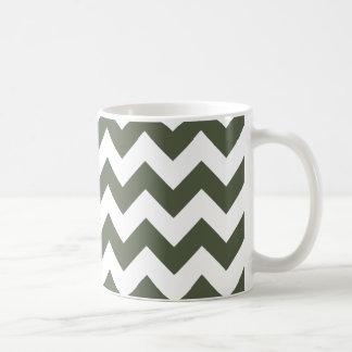 Chevron 1 Cypress Coffee Mug
