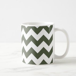 Chevron 1 Cypress Mugs