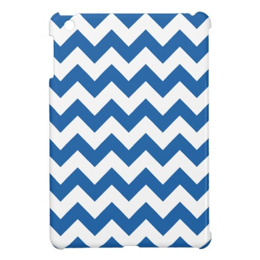 Chevron 1 Dazzling Blue Cover For The iPad Mini