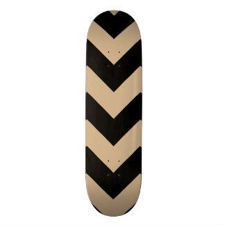 Chevron 1 Sand Skateboard