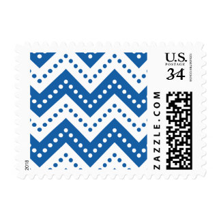 Chevron 7 Dazzling Blue Stamps