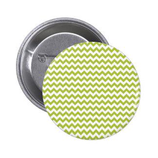 Chevron Ácido-Verde-Y-Blanco Pins