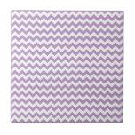Chevron Africano-Violeta-Y-Blanco Azulejos Ceramicos