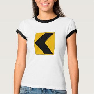 Chevron Alignment Left, USA T-shirts