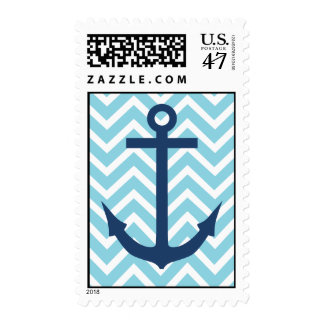 Chevron Anchor Stamp