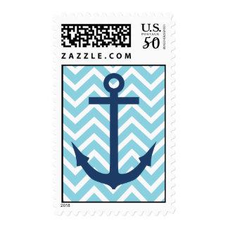 Chevron Anchor Stamp