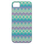 Chevron Aqua Pattern iPhone 5 Case