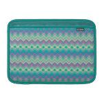 Chevron Aqua Pattern Sleeve For MacBook Air