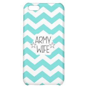 CHEVRON ARMY WIFE | IPHONE 5C CASE