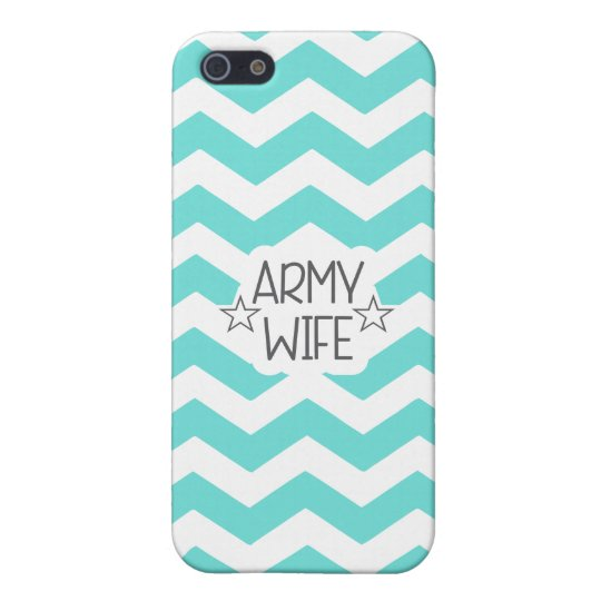 CHEVRON ARMY WIFE | IPHONE 5C CASE