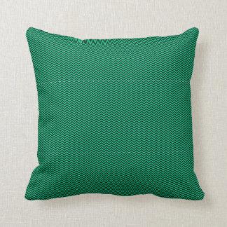 Chevron azul almohadas