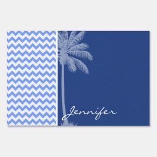 Chevron azul tropical cartel