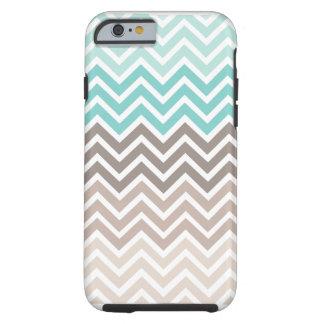 Chevron Beach Color Scheme Tough iPhone 6 Case