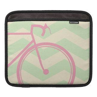 Chevron Bicycle Dream Sleeve For iPads