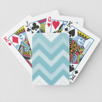 Chevron Bicycle Playing Cards