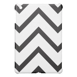 Chevron black and white cover for the iPad mini