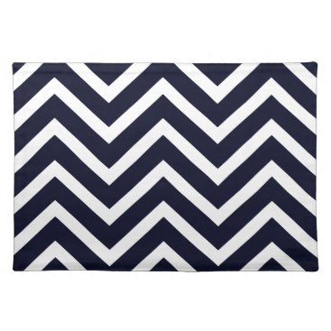 USA Themed Chevron Black white  pretty cool Placemat