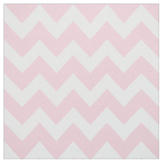 Chevron blanco raya el modelo rosado del | telas