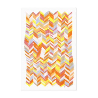Chevron Blanket Canvas Print