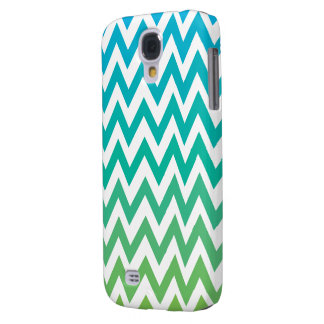 chevron bluegreen vintage HTC vivid tough Samsung Galaxy S4 Cover