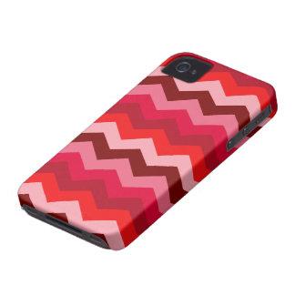Chevron Bush color de rosa Funda Para iPhone 4