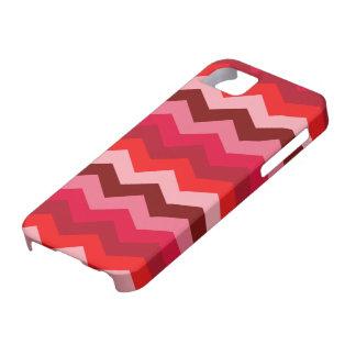 Chevron Bush color de rosa Funda Para iPhone SE/5/5s