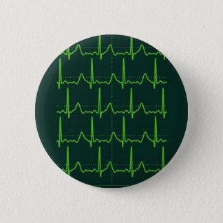 Chevron Cardiac Arrest Pinback Button
