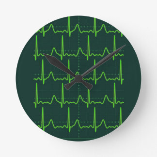 Chevron Cardiac Arrest Round Clock