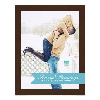 Chevron Christmas Photo Cards Custom Announcements