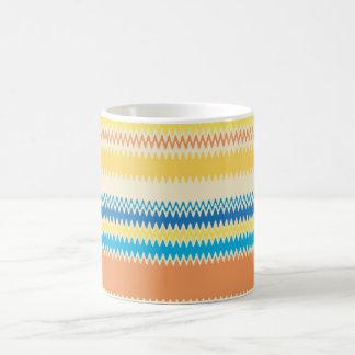 Chevron Colorful Zigzag Stripe Decorative Coffee Mug