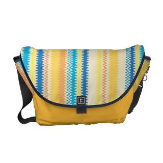 Chevron Colorful Zigzag Stripe Decorative Messenger Bags