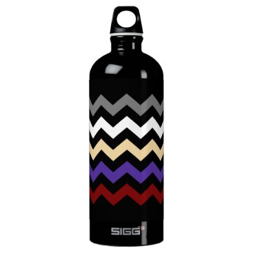 Beach Themed Chevron Colour Combination Drinks Bottle 1.0L