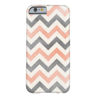 Chevron coral grey geometric iPhone 5 case iPhone 6 Case