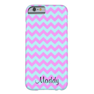 Chevron Cotton Candy Print Barely There iPhone 6 Case