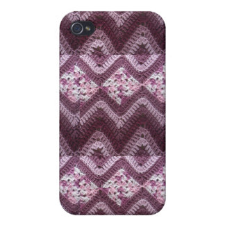 Chevron Crochet Pattern iPhone 4 Case
