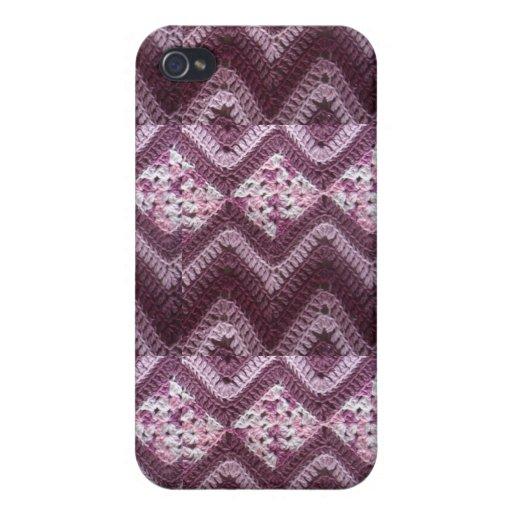 Free Crochet Pattern For I Phone Case : Chevron Crochet Pattern iPhone 4 Case Zazzle