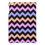Chevron en colores pastel lindo 2 iPad mini protector