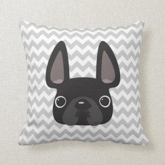 Chevron French Bulldog Pillow