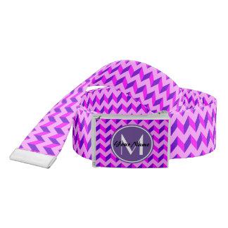 chevron,gifts,modern,monogram,pattern,pink,stripe, belt