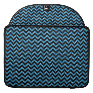 Chevron Glitter Look MacBook Pro Sleeve