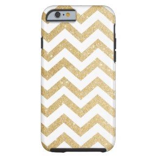 Chevron Gold Faux Glitter Phone Case iPhone 6 Case
