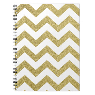 chevron,gold,zig zag,trendy,girly,cute,elegant,fun note books