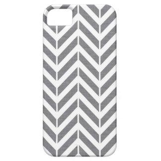 Chevron gris iPhone 5 Case-Mate carcasa