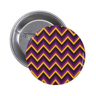 Chevron Halloween Button