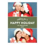 CHEVRON HOLIDAY | HOLIDAY PHOTO CARD INVITATION