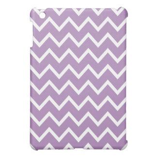 Chevron iPad Mini Case - African Violet Purple
