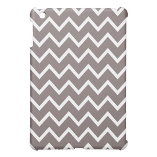 Chevron iPad Mini Case - Driftwood Brown