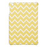 Chevron iPad Mini Case - Lemon Zest Yellow