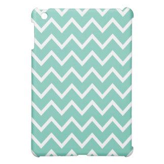 Chevron iPad Mini Case - Turquoise