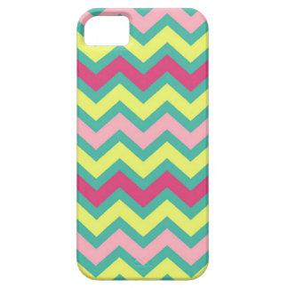 Chevron iPhone5 case Colorful Neon Pink Green Fun iPhone 5 Case